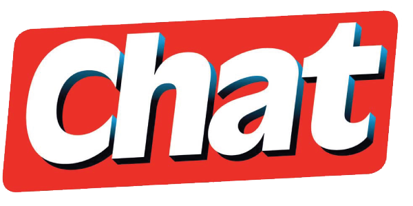 Chat Magazine logo.