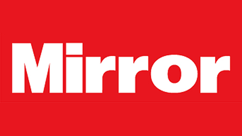 The Mirror logo.
